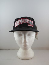 Sault Ste Marie Greyhounds Hat (VTG) - Script Front by CCM -Adult Snapba... - $69.00