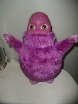 "Hasbro 2004 Boohbah Dancing Zumbah 14"" Purple Electronic Musical Plush Toy  - $19.75"