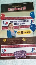 Western Theme Cowboy Personalized Giant Party Banner Party-  New / Sealed - $13.48