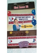 Western Theme Cowboy Personalized Giant Party Banner Party-  New / Sealed - $14.53