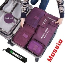 Mossio 7 Set Packing Cubes with Shoe Bag - Compression Travel Luggage Or... - $628,03 MXN