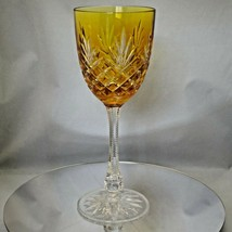 Faberge Yellow Gold Odessa Hock Crystal Wine Glass - $225.00