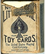 1910 little duke playing cards no 24 toy cards ... - $12.99