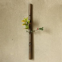 Japanese flower arrangement vase bamboo Beppu traditional craft from japan - $52.37