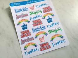 Thrift Shopper Sticker Sheet