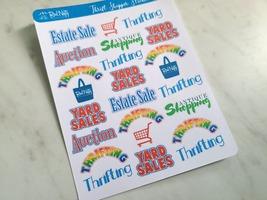 Thrift Shopper Sticker Sheet image 1