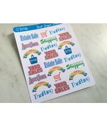 Thrift Shopper Sticker Sheet - $3.50