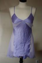 NWT! Victoria's Secret Silky Lilac Purple Short Half Slip S Mesh Inserts - $27.72