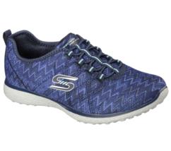 Women's Skechers Fluctuate Walking Shoe Navy Size 8.5 #NG4EL-155 - $54.44