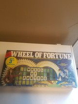 Wheel Of Fortune 3rd Edition Board Game Factory Sealed From 1985-86 - $24.99