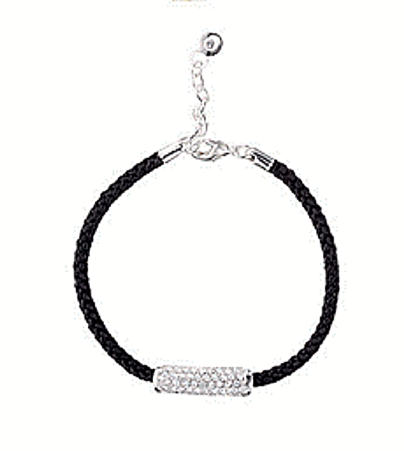 Avon Pave Bar Adjustable Bracelet image 1