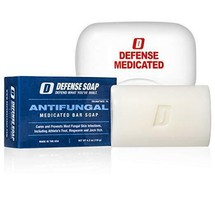 DEFENSE | Antifungal Medicated Bar Soap | FREE Soap Dish | FDA Approved! - $11.29
