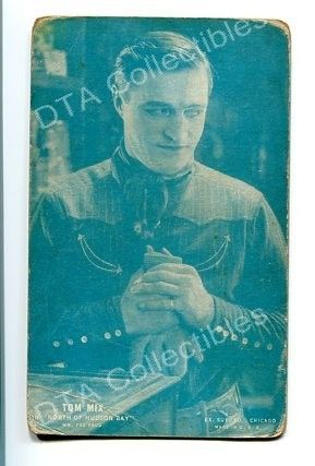 Primary image for NORTH OF HUDSON BAY-ARCADE CARD-TOM MIX-1920 G