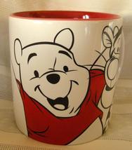 Winnie the Pooh Mug Cup Disney Store 16 oz Oversized Tigger Roo Eeyore (... - $14.90