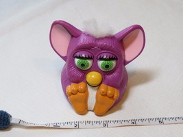 Furby McDonald's plastic toy purple movement noise 1998 Tiger electronics McD.  - $24.74