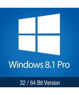 Windows 8.1 Pro  Product Key Full Version Professional License 32 64 - $5.89