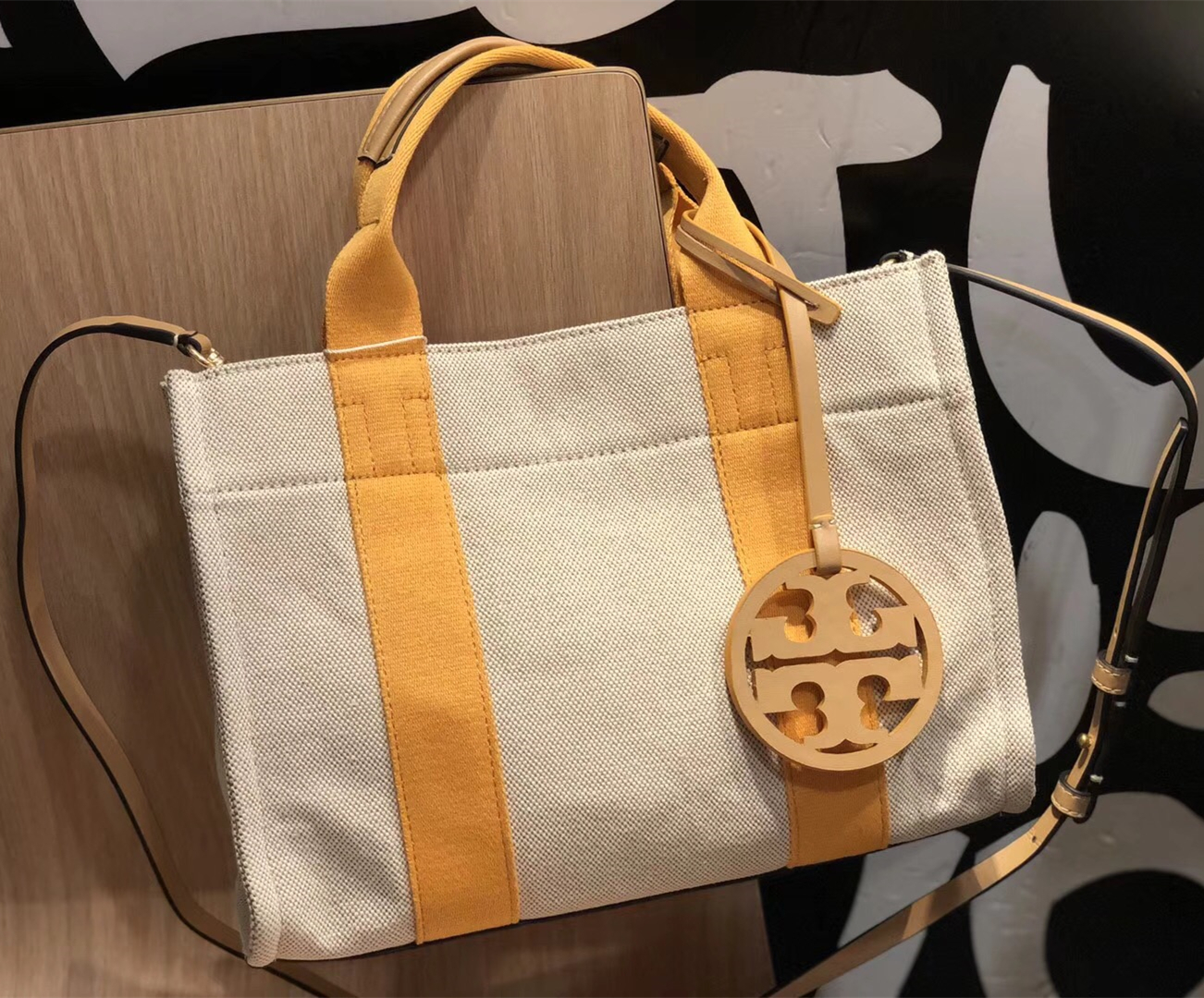 a5c2783fa7c New Tory Burch Miller Canvas Mini Tote and 50 similar items