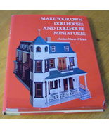 Dollhouses and Dollhouse Miniatures Make Your Own - $7.98