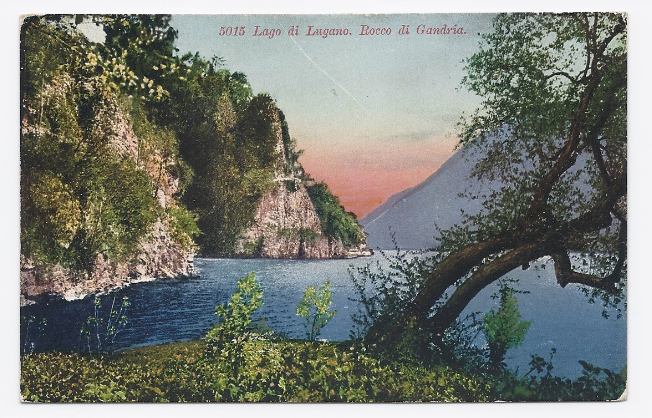 c1910 - Lake Lugano, Between Italy and Switzerland - Unused