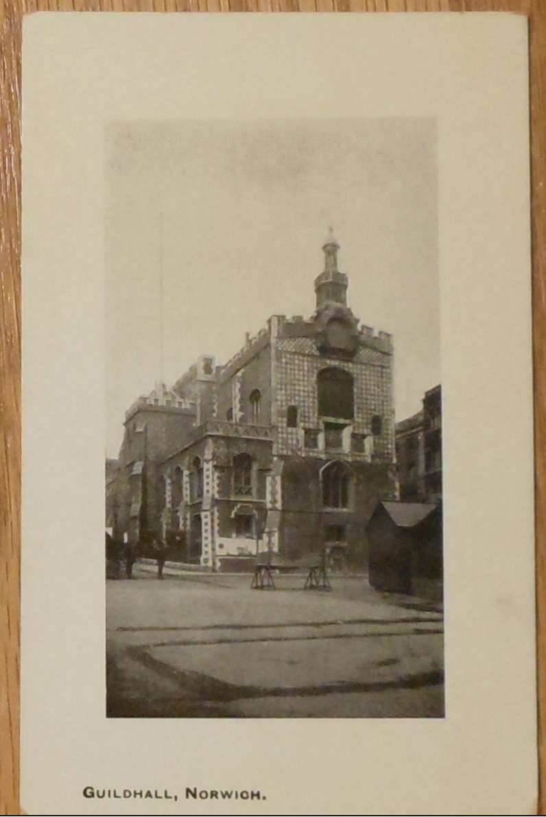 c1910 - The Guildhall, Norwich, Great Britain - Unused