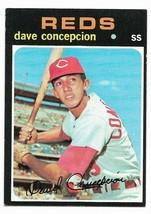 1971 Topps #14 Dave Concepcion, Cincinnati Reds Rookie Card - $2.65