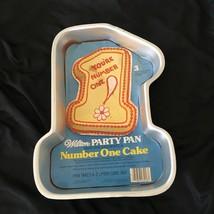 Vintage 1979 Wilton Number One Cake Pan mold + Insert Cake Decorating #5... - $180,42 MXN