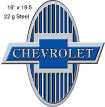 Chevrolet Reproduction Laser Cut Out Sign 19x19.5 - $39.60