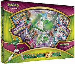 Gallade EX Box Collection POKEMON TCG Cards 4 Booster Packs + Promo Trading Card - $25.95