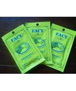 3x10ml. Facy Whitening C 2 in 1 Cold Scrub Mud Mask Blue Green Seaweed V... - $12.99