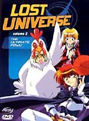 Lost Universe: The Ultimate Fowl! Vol. 02 DVD Brand NEW!