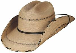 Bullhide Miller 20X Mexican Palm Leaf Cowboy Hat Braided Brim And Crown ... - $65.00