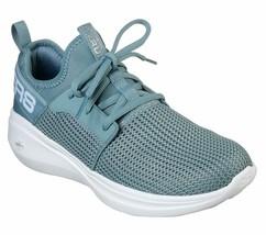 Skechers GO Run Fast Blue shoes Women's Sport Workout mesh Comfort Casua... - $53.99