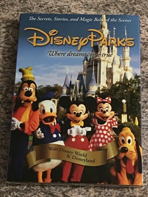 Primary image for Disney Parks: The Secrets, Stories, and  Magic Behind the Scenes (DVD) BRAND NEW