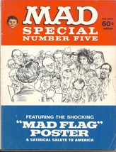 (CB-13) 1971 Mad Magazine Special #5 - { missing MAD Flag poster } - $25.00
