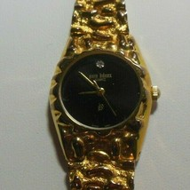 Vintage Pierre Bideaux Gold-tone Nugget Quartz Watch  - $54.45