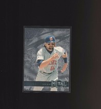 1996 Fleer Metal Platinum Edition #76 Chuck Knoblauch Minnesota Twins - $1.75