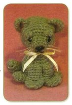 Y301 Crochet PATTERN ONLY Baby Kitty Kitten Cat Toy Pattern - $9.50
