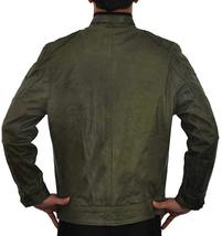Wesley Gibson Wanted Mark Millar Green Leather Jacket image 4
