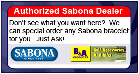 Sabona 353 Stainless Rubber Magnetic Bracelet