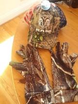 NWT Dodge Ram Men's Patriotic Cap and Hunting Gloves Set - $17.81