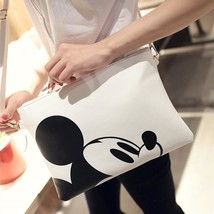 Women Hello Kitty Messenger Bag Minnie Mickey Bag Leather Handbags - $21.99