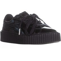 PUMA Creeper Platform Fashion Sneakers, Black/Black - $58.99