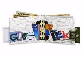 Dynomighty Mighty Wallet Tyvek Stop Shopping White Eco-Friendly Recyclable image 3