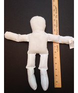 """WHOLESALE LOT of 6 NEW STUFFED Natural MUSLIN DOLLS  12"""" TALL DOLL BODIE... - $21.55"""