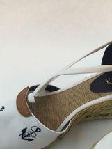 Lauren Ralph Lauren Cala, White and Navy, size 9B ($69) image 5