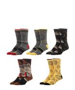 Donkey Kong Video Game 5 Pack Casual Crew Socks Nwt - $19.99