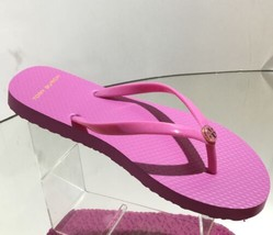New Tory Burch Logo Flip Flop In Magnolia Rosa - Msrp $58.00! - $35.95