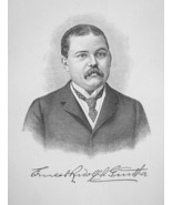 ERNEST GUNTHER Prominent New Yorker Son of German Pioneer - 1895 Portrai... - $12.60