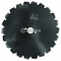 395-333 Stens Steel Brushcutter Blade 8in x 22 Tooth - $25.95
