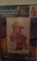 "Janlynn NEW SEALED ""Cherished Teddies Around the World, Australia"" Cross... - $8.59"